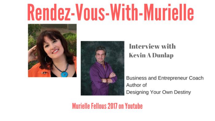 Rendez-Vous-With-Murielle interviews Kevin A Dunlap