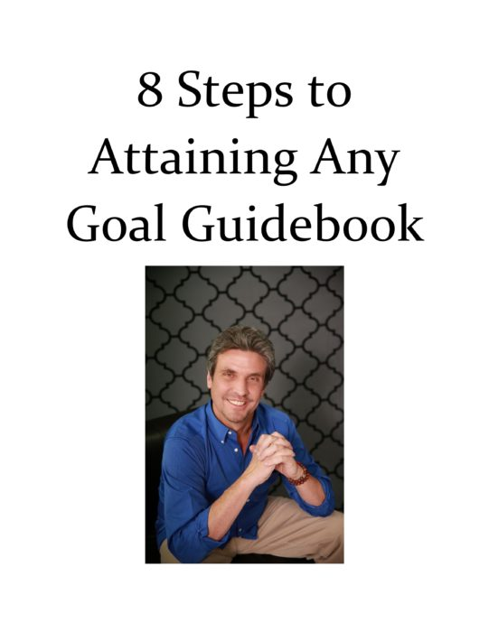 8 Steps to Achieving Any Goal is a 8 step program helping you to achieve any goal. This breaks any goal, either large or small, down into smaller steps so to ensure you have a game plan and guide to achieving even the toughest of goals.