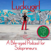 Christina Aldan podcast show Lucky Girl