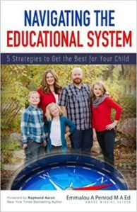 Emmalou Penrod has a book Navigating the Educational System. She is has 25 years as a special ed teacher