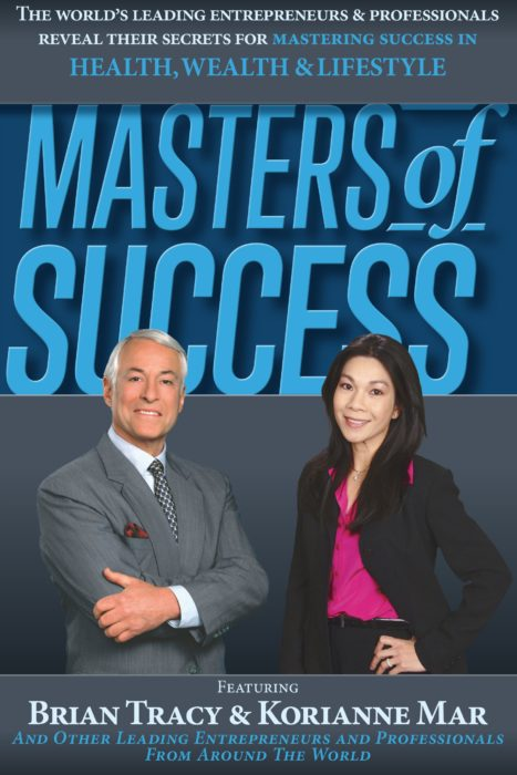 Korianne Mar and Brian Tracy as co-authors of the book Masters of Success.