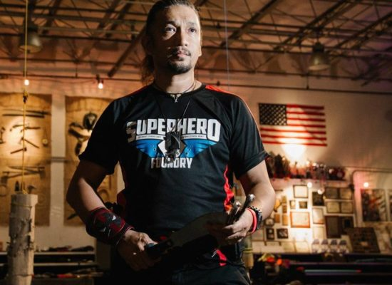 TJ is the founder of Superhero Foundry. He trains kids to adults to become superheros.