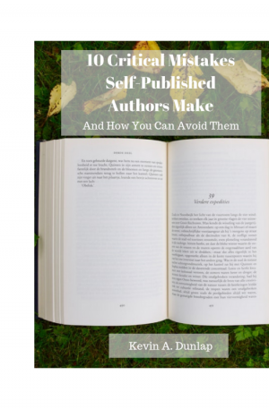 10 Critical Mistakes Self-Published Authors Make